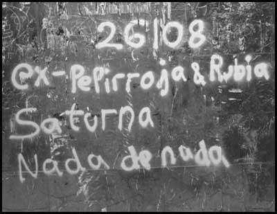 26/08 Ex-Pelirroja & Rubia Saturna Nada de Nada