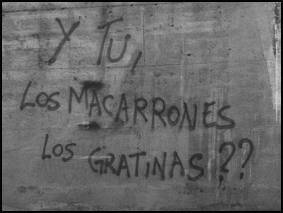 Y Tu, Los Macarrones los Gratinas??