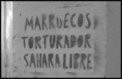 Marruecos Torturador Sahara Libre